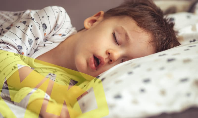 What to be aware of if your child snores